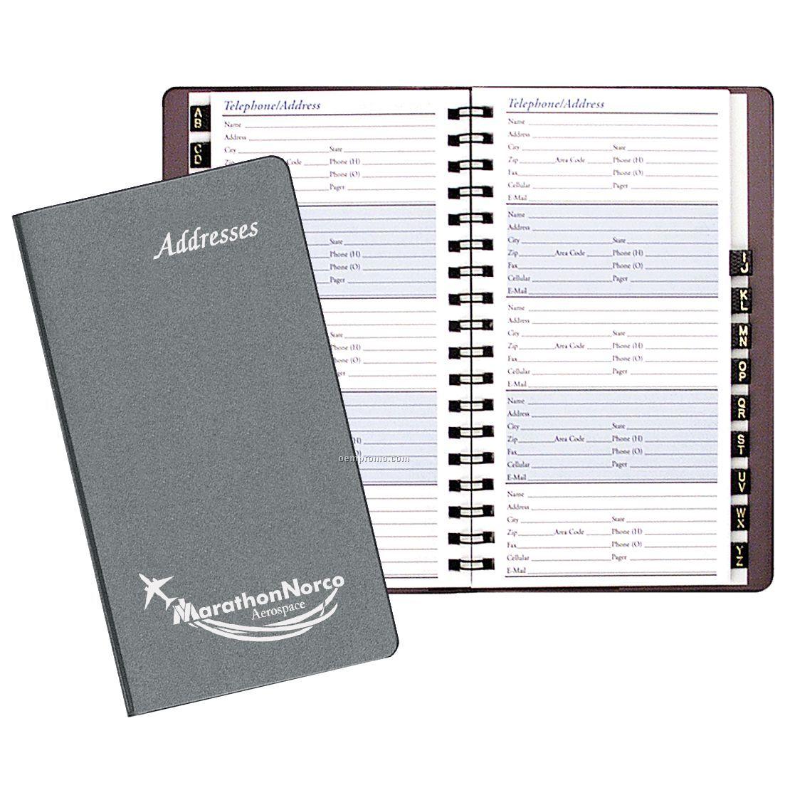 pocket sized address book