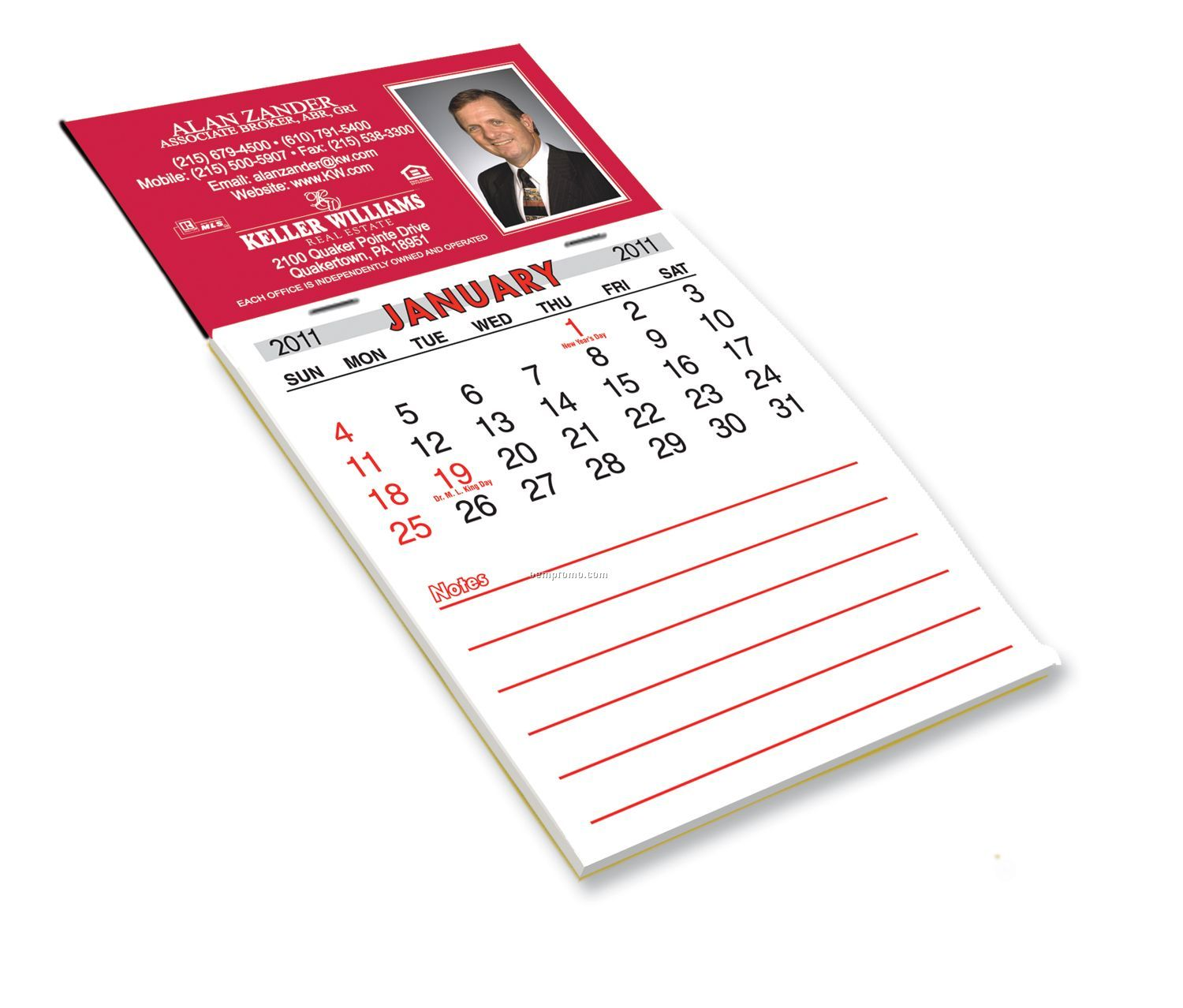 Year Calendar Magnetic : Magnetic one year calendar pad china wholesale